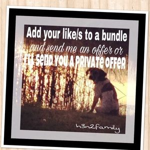 Other - Bundle and get a special discount from me!